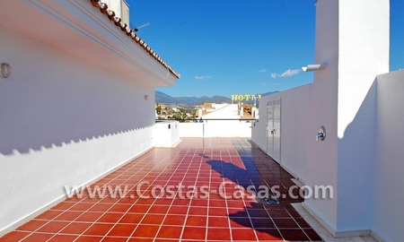 Double penthouse apartment to buy in central Puerto Banus, Marbella 2