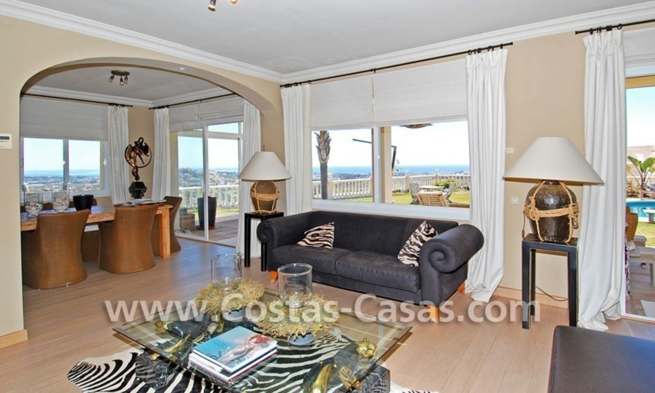 Golf villa to buy in an up-market area of Nueva Andalucia – Marbella 9