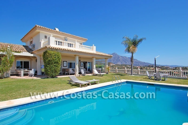 Golf villa to buy in an up-market area of Nueva Andalucia – Marbella 0