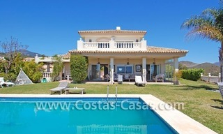 Golf villa to buy in an up-market area of Nueva Andalucia – Marbella 1