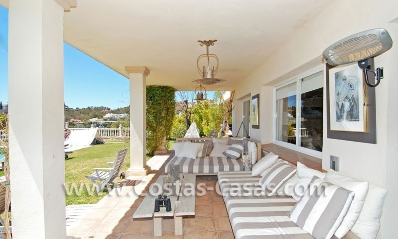 Golf villa to buy in an up-market area of Nueva Andalucia – Marbella 16