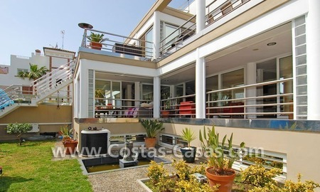 Bargain modern styled villa nearby the beach for sale in Marbella 1