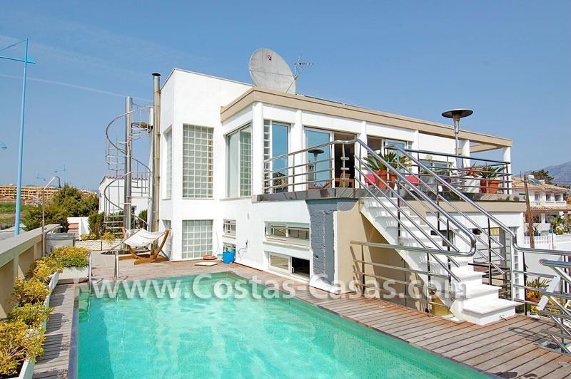 Bargain modern styled villa nearby the beach for sale in Marbella
