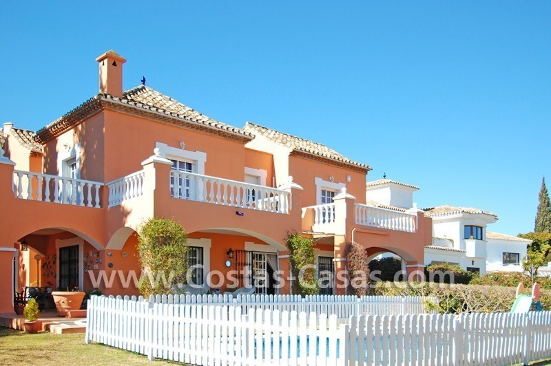 Urgent sale! Andalusian styled villa to buy in Nueva Andalucia - Marbella