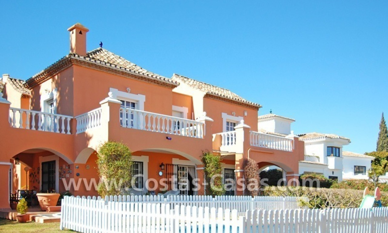 Urgent sale! Andalusian styled villa to buy in Nueva Andalucia - Marbella 0