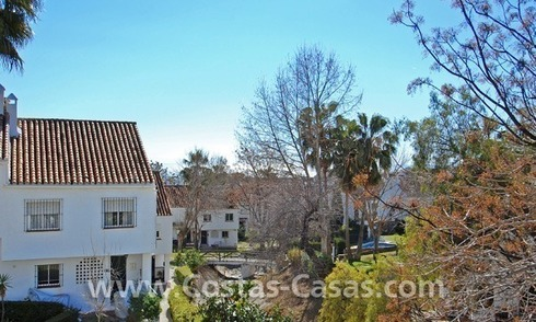 Townhouse for sale on the Golden Mile near central Marbella and the beach