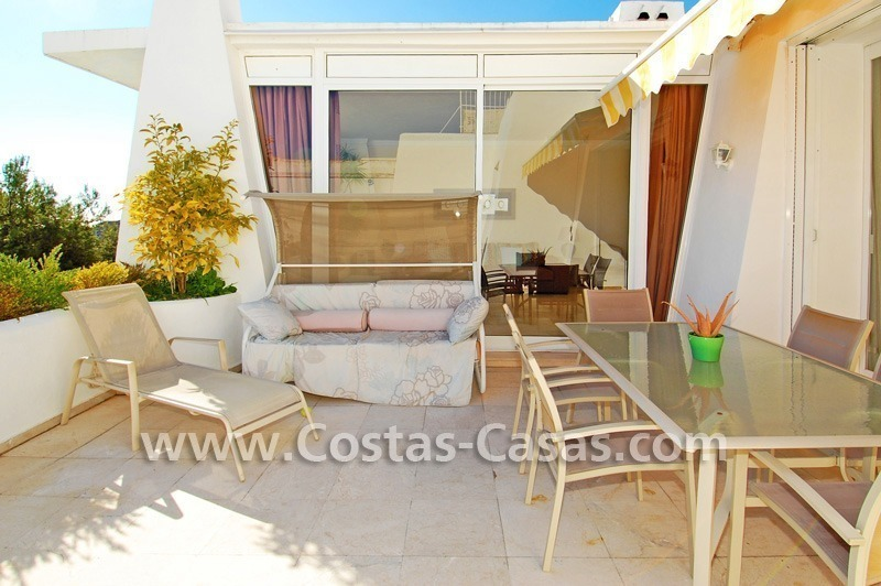 Cozy golf townhouse for sale in East Marbella 4