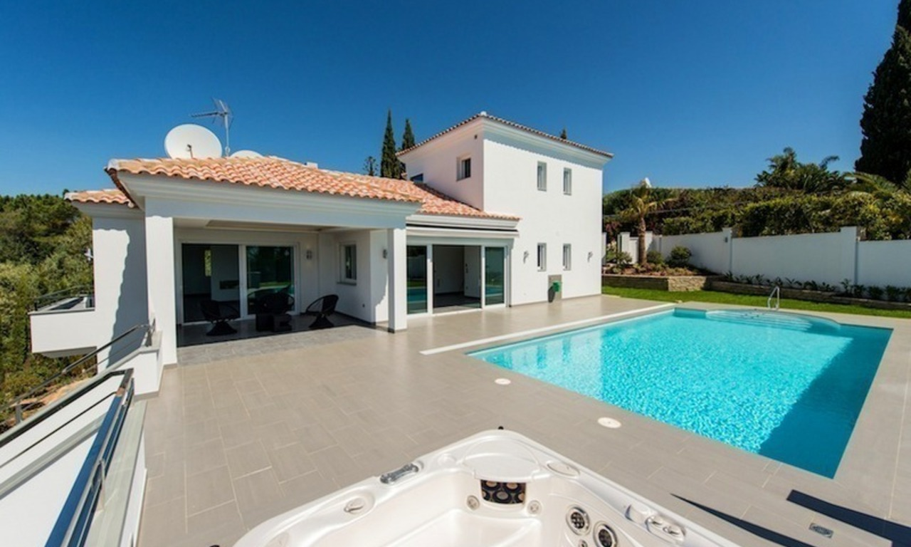 Modern style luxury villa for sale in Marbella 0