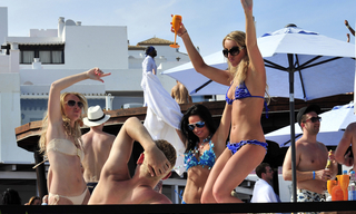 Champagne party May in Ocean Club Marbella 3