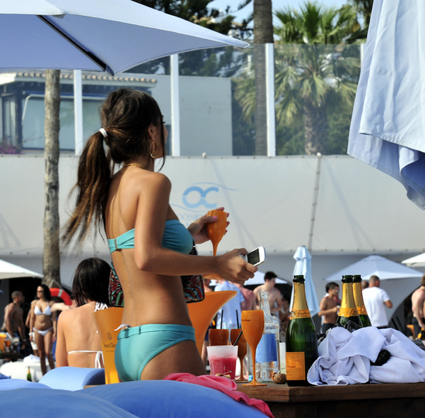 Champagne party May in Ocean Club Marbella 9