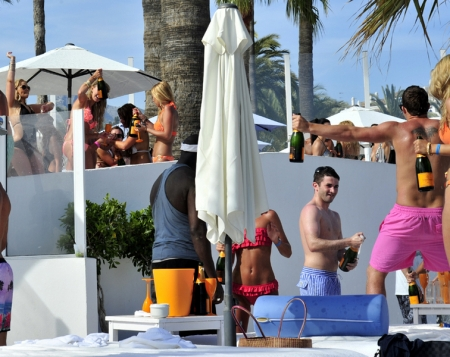 Champagne party May in Ocean Club Marbella 5