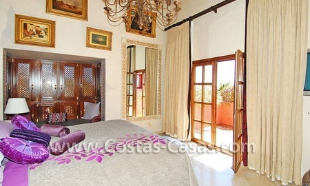Exclusive Andalusian styled villa to buy on the Golden Mile in Marbella 16