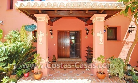 Exclusive Andalusian styled villa to buy on the Golden Mile in Marbella 8