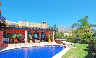 Exclusive Andalusian styled villa to buy on the Golden Mile in Marbella 1