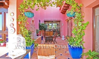 Exclusive Andalusian styled villa to buy on the Golden Mile in Marbella 7
