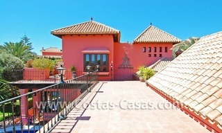 Exclusive Andalusian styled villa to buy on the Golden Mile in Marbella 3