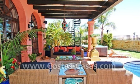 Exclusive Andalusian styled villa to buy on the Golden Mile in Marbella 2