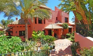 Exclusive Andalusian styled villa to buy on the Golden Mile in Marbella 5