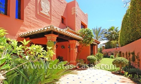 Exclusive Andalusian styled villa to buy on the Golden Mile in Marbella 6