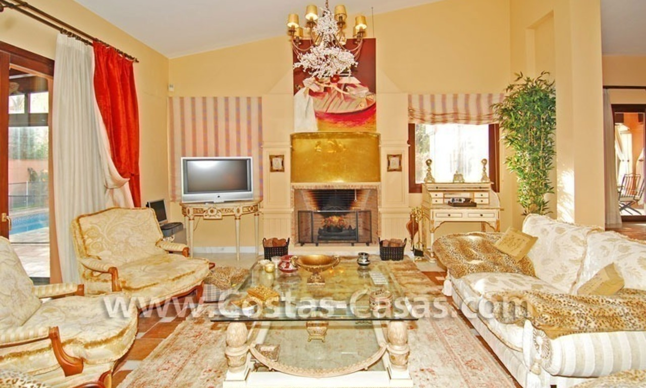 Beach side Andalusian styled luxury villa for sale in Puerto Banus – Marbella 14