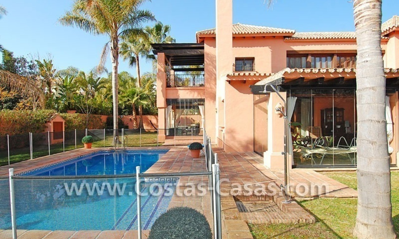 Beach side Andalusian styled luxury villa for sale in Puerto Banus – Marbella 2