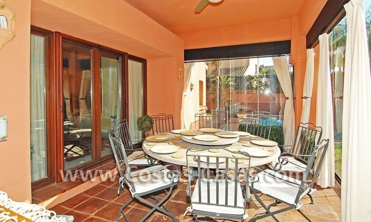 Beach side Andalusian styled luxury villa for sale in Puerto Banus – Marbella 10