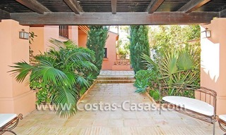 Beach side Andalusian styled luxury villa for sale in Puerto Banus – Marbella 6