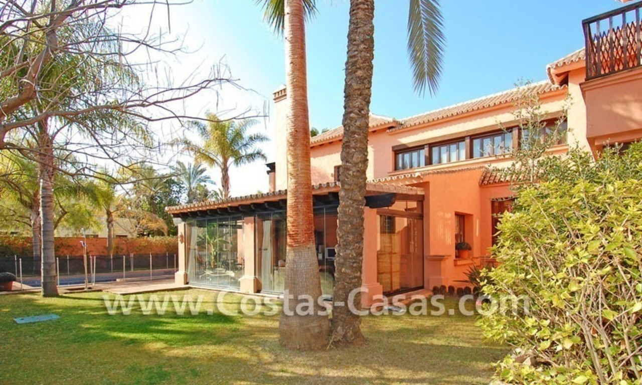 Beach side Andalusian styled luxury villa for sale in Puerto Banus – Marbella 4