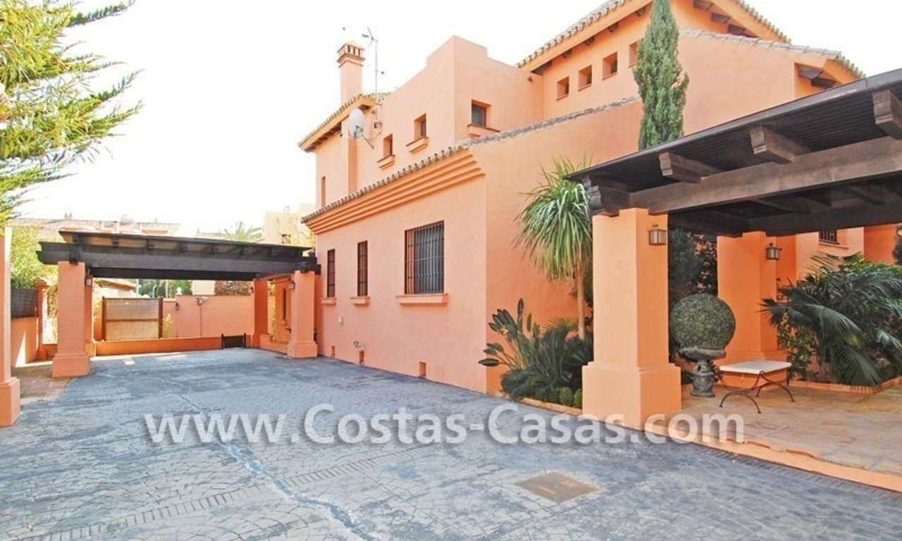 Beach side Andalusian styled luxury villa for sale in Puerto Banus – Marbella 5