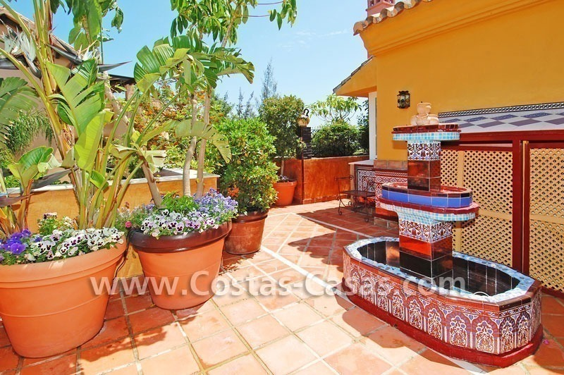 Luxury large penthouse apartment for sale on the Golden Mile in Marbella 4
