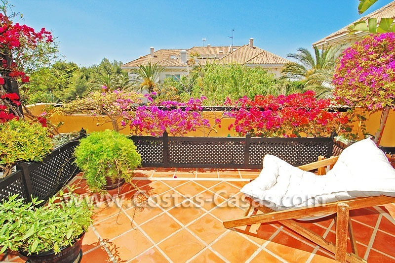 Luxury large penthouse apartment for sale on the Golden Mile in Marbella 3