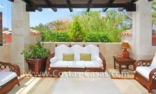 Luxury large penthouse apartment for sale on the Golden Mile in Marbella 0