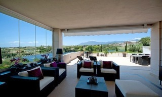 Large luxury apartment for sale on golf resort in the area of Marbella – Benahavis – Estepona 8