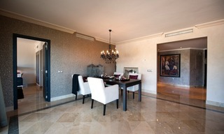 Large luxury apartment for sale on golf resort in the area of Marbella – Benahavis – Estepona 13