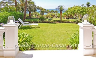 Exclusive beachfront apartment for sale, New Golden Mile, Marbella - Estepona 0