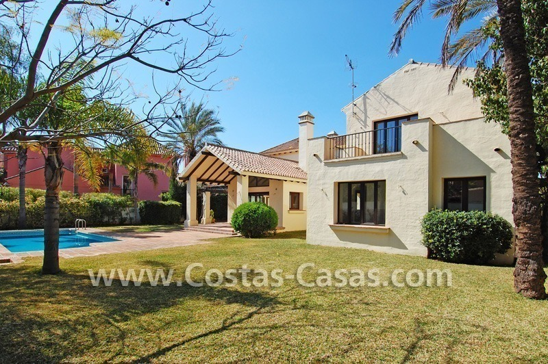 Beach side Andalusian styled villa for sale in Nueva Andalucia – Puerto Banus – Marbella 2