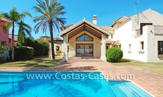 Beach side Andalusian styled villa for sale in Nueva Andalucia – Puerto Banus – Marbella 1