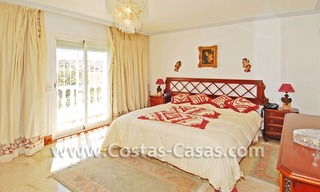 Modern Andalusian styled beachside villa for sale in Marbella 11
