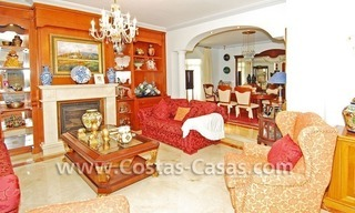 Modern Andalusian styled beachside villa for sale in Marbella 7