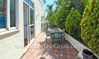 Modern Andalusian styled beachside villa for sale in Marbella 3
