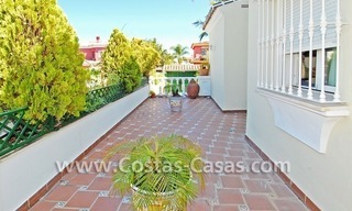 Modern Andalusian styled beachside villa for sale in Marbella 4