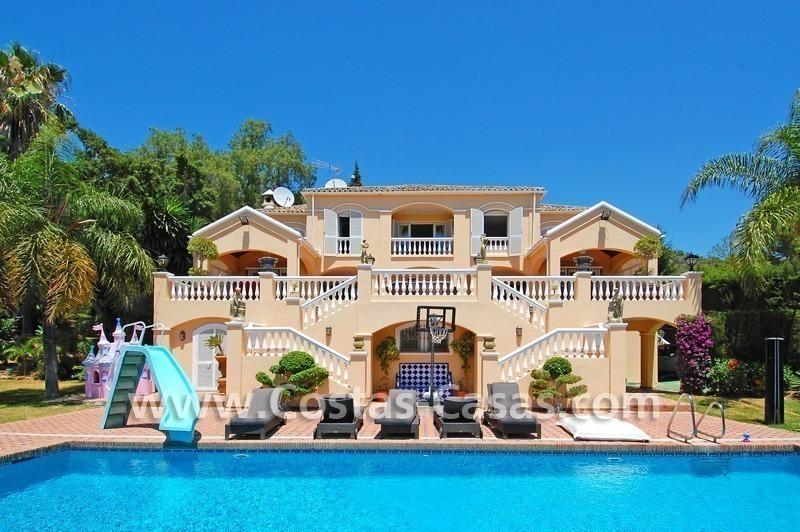 Majestic luxury villa for sale camojan marbella for Decoration villa de luxe