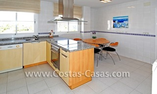 4-bedroomed penthouse apartment for sale on the beachfront complex in Marbella 11