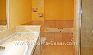 4-bedroomed penthouse apartment for sale on the beachfront complex in Marbella 16