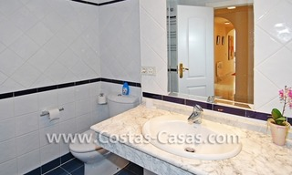 4-bedroomed penthouse apartment for sale on the beachfront complex in Marbella 17