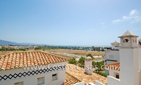 4-bedroomed penthouse apartment for sale on the beachfront complex in Marbella 3