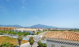 4-bedroomed penthouse apartment for sale on the beachfront complex in Marbella 4