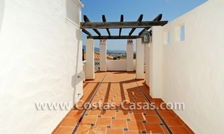 4-bedroomed penthouse apartment for sale on the beachfront complex in Marbella 7