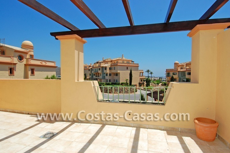 Bargain luxury golf penthouse apartment to buy in a golf resort, Benahavis - Estepona - Marbella 12