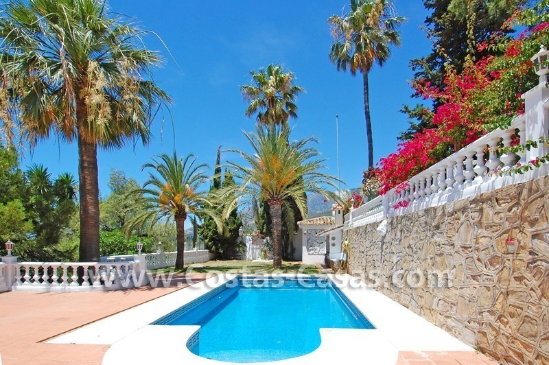 Bargain andalusian styled villa for sale in Marbella